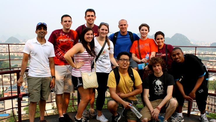 CLI Hosts Va Tech and NSU Summer Study Tour