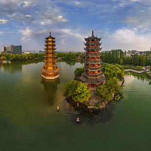 guilin pagodas are a must see