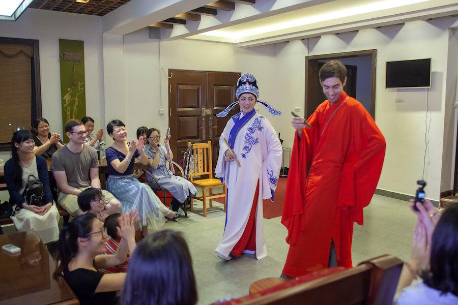 CLI students perform Guilin opera