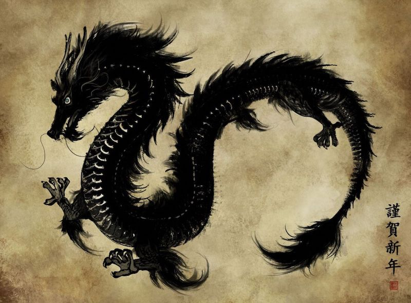 meaning of chinese dragons