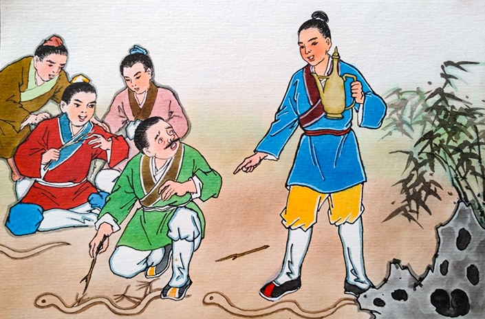 traditional chinese idiom story