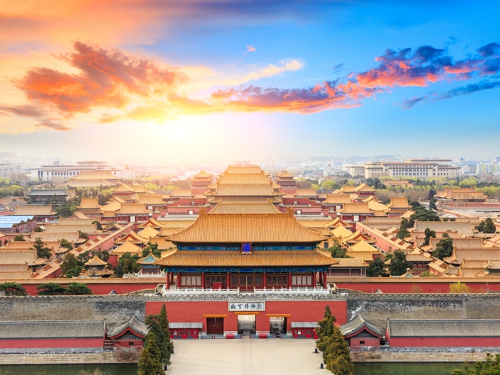 the Forbidden City in Beijing, one of the best places to visit in China