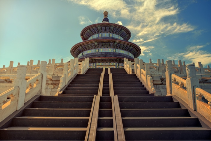 the Temple of Heaven in Beijing, one of the best places to visit in China