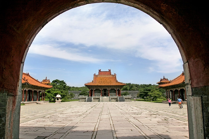 traditional Chinese architecture in Shenyang, China, a Shenyang travel guide favorite