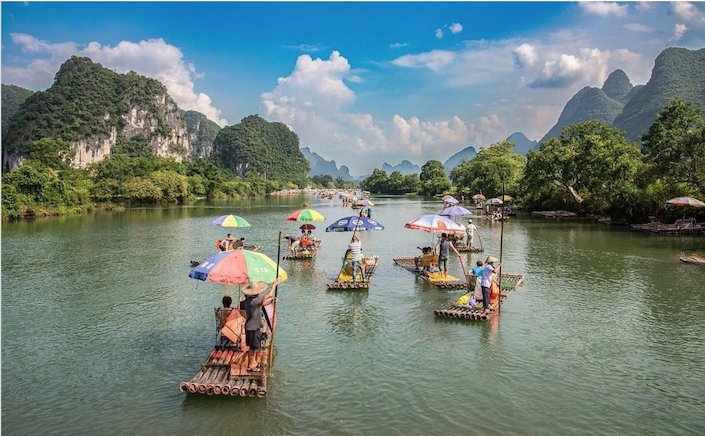 guilin yangshuo li river