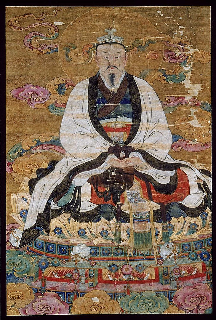 Traditional painting of the Jade Emperor