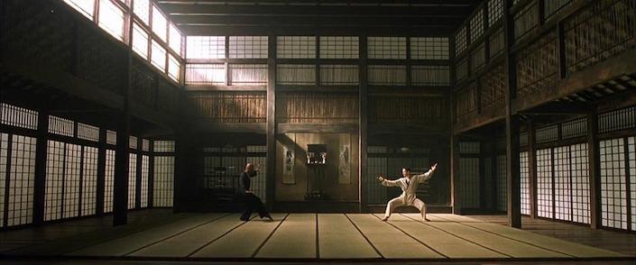 fight scene from The Matrix