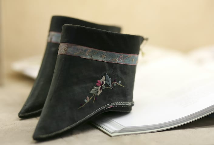 chinese foot binding Lotus Shoes used for Women with bound feet