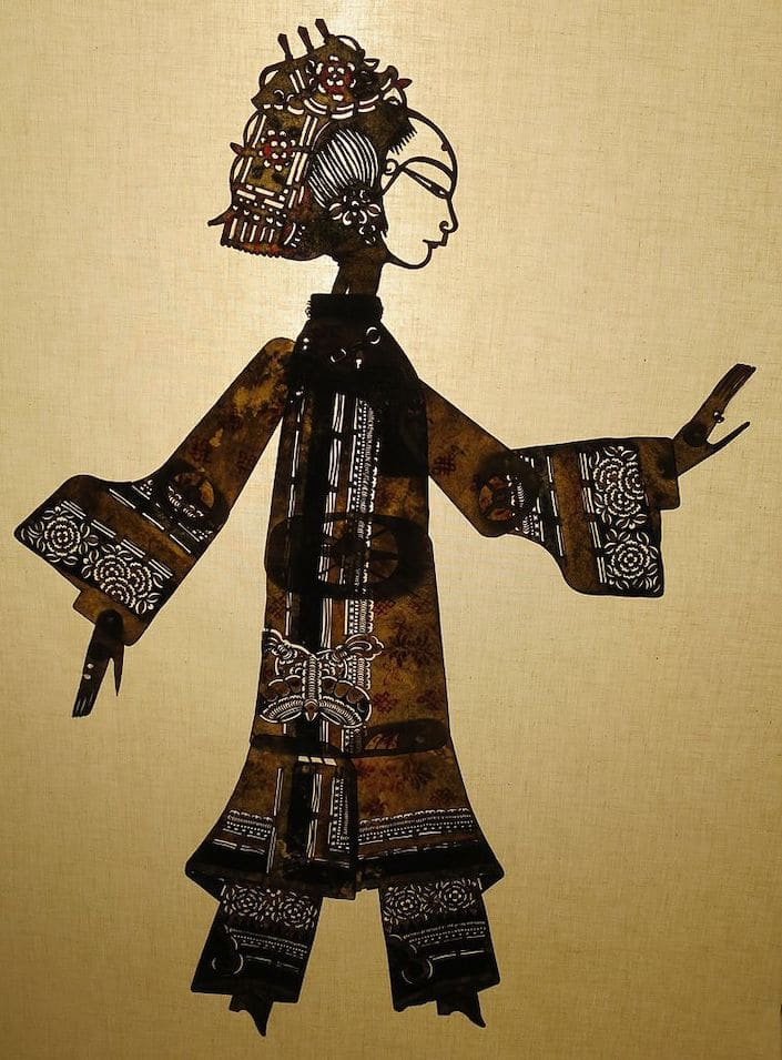 chinese shadow puppet